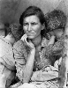 Dorothea Lange. Politiques du visible : Migrant Mother, Nipomo, California,1936, Dorothea Lange, © The Dorothea Lange Collection, the Oakland Museum of California, City of Oakland. Gift of Paul S. Taylor