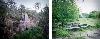 Kader Attia - Les racines poussent aussi dans le béton : Kader Attia, The End and the Beginning, 2013. Diptyque, caissons lumineux. Avec l'aimable autorisation de l'artiste et de la Galerie Krinzinger. © Adagp, Paris 2018