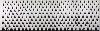 Nevermore : Christian Jaccard, Ombres des brûlis, 25, 26, 27 avril 2010. © Adagp, Paris 2010. Tableau éphémère in situ, gel thermique sur BA 13, 8,5 x 26,4 m. Production MAC/VAL. Collection MAC/VAL. Photo Marc Domage.