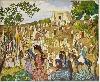 Peinture des lointains : André Suréda, La Fête arabe dans la campagne de Tlemcen, Huile sur toile, 190 x 230 cm
