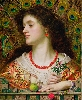La Peinture anglaise, de Turner à Whistler. : Frederick Sandys Vivien, 1863 huile sur toile, 64 x 52,5 cm Manchester Art Gallery © Manchester Art Gallery / Bridgeman Images