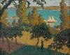 La modernité en Bretagne : Albert CLOUARD,La Cueillette des pommes