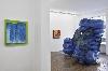 Anita Molinero. La Grosse Bleue : Anita Molinero, La Grosse bleue, 2007-2017 Polypropylène, Pièce unique, Vue de l'exposition