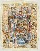 À la plume, au pinceau, au crayon. Dessins du monde arabe : Mahjoub BEN BELLA. Maya, 2009. Technique mixte sur papier, 88 x 68 cm. © Don de l'artiste. Fonds Claude & France Lemand-IMA.