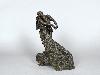 Ouverture du musée Camille Claudel : Camille Claudel . La valse. 1889-1905, bronze, 45,9 x 31,9 x 22,9 cm. Musée Camille Claudel, Nogent-sur-Seine