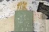 Le désir inachevé - Alain le Provost : Marcel Duchamp. La Boîte verte. 1934, fac-similés sur papier et emboîtage de carton avec application de cuivre et plaque de verre,  ensemble de 93 fac-similés de photographies, dessins et notes, 2,2 x 28 x 33,2 cm.