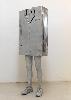 Everybody : Erwin Wurm, Untitled, 2008. Aluminium, 160 x 56 x 27 cm. Courtesy Galerie Thaddaeus Ropac, Paris/Salzburg. Photo : Philippe Servent © ADAGP, Paris 2016