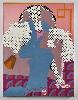 The Remains of Love. Dernier regard avant le Brexit? : Gerald Laing. A Friend of My Mother's. Jean Harlow. 1964-71, huile sur toile, 165,1 x 124,5 cm. Collection privée, Paris.