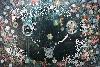Hélène Delprat, I Did It My Way : Hélène Delprat, Peinture pourrie, 2014, pigments, acrylique et paillettes argent sur toile, 200 x 295 cm. © Hélène Delprat, Adagp, 2017. Courtesy Collection Antoine de Galbert