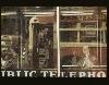 Des villes et des hommes - Regard sur la collection Florence et Damien Bachelot : Saul Leiter Phone Call, 1957 Tirage d'époque, Cibachrome 34,3x22,9 cm Collection Florence et Damien Bachelot