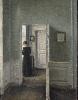 Vilhelm Hammershøi. Le maître de la peinture danoise : Vilhelm Hammershøi. Intérieur avec une femme debout, n.d, huile sur toile, 67,5 x 54,3 cm © Ambassador John L. Loeb Jr. Danish Art Collection
