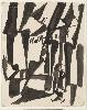 Hans Richter. La Traversée des siècles : Hans Richter, Häuser [Maisons], 1917, © Hans Richter Estate