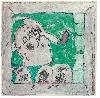 Dilasser, la vie des signes : Série Icare, 1987. Acrylique et crayon sur papier. Collection particulière. © ADAGP, Paris, 2016.