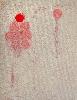 22+1 – Identité de genre : Dominique De Beir. The times.  2013, encre, perforations sur papier, 29,7 x 21 cm. © Galerie Réjane Louin