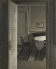 Vilhelm Hammershøi. Le maître de la peinture danoise : Vilhelm Hammershøi. Intérieur / Strandgade, 1904, huile sur toile, 55,5 x 46,4 cm. Musée d'Orsay, Paris. Photo © RMN-Grand Palais (musée d'Orsay) Adrien Didierjean