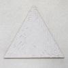 Carrément 4 : Joal Besse, TRIANGLE, 2017, acrylique sur carton et toile marouflé sur bois, 60x60 cm