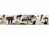 Kacimi. 1993-2003, une transition africaine : L'Oracle des temps, Bourges, 1996. Technique mixte sur toile. 1155 x 240 cm. Collection privée, Marrakech © Collection privée, Marrakech