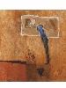 Kacimi. 1993-2003, une transition africaine : Technique mixte sur toile. 160 x 150 cm. Atelier de l'artiste © Atelier de l'artiste