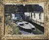 Effervescence fin de siècle, les artistes à Paris 1884-1914 : Fernand Lambert, Bateaux –lavoirs, s.d. , huile sur toile, coll. privée © Didier Michalet