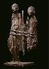 Marc Petit. Œuvres récentes : Hermanos. 2013, bronze, env. 150 cm.