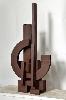 Carrément 4 : Marino Di Teana, LIBERTE, 1979-1988, acier oxyde cire, 75 x 34,5 x 25,5 cm