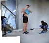 Par amour du jeu 1998-2018 : Mohamed Bourouissa - R.I.P, 2011 - Photomontage: Lambda print mounted on plexiglas, 125 x 143 cm - © Mohamed Bourouissa Courtesy the artist and kamel mennour, Paris/London