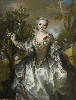 De Watteau à David. L'art du XVIIIe siècle dans la collection Horvitz :  Nicolas de Largillière, Louise-Marguerite Bertin de Vaugien, Comtesse de Montchal, 1735. Huile sur toile. © The Horvitz Collection – Photo : M. Gould