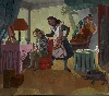 Les Contes cruels de Paula Rego : Paula Rego The Maids, 1987 Acrylique sur papier monté sur toile 213 x 244 cm Collection particulière © Copyright Paula Rego Courtesy Marlborough Fine Art