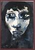 Franta. Le temps d'une oeuvre : Franta. Jacqueline. 1965, huile sur toile, 73x60cm