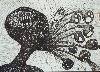 L'Internationale des Visionnaires : Raphaëlle Ricol. Sans titre, 2009 Feutre sur Papier 24x33cm CF 1805  © Raphaëlle Ricol