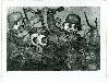 Otto Dix. Estampes. : 6. Sturmtruppe geht unter Gas vor (Bataillon d'assaut a? l'attaque sous les gaz) © Adagp, Paris 2018