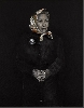 Khaled Takreti. Les Femmes et la Guerre : Khaled Takreti. Les femmes et la Guerre 10. 2016, acrylique sur toile, 146 x 114 cm. Courtesy de l'artiste et galerie Claude Lemand, Paris.