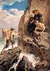 Tempêtes, naufrages et sauvetages en mer 1850-1900 : A. Antigna, Maree montante. Credit photographique : Direction des Musées de Dunkerque, MBA, Ph. Jacques Quecq d'Henriprêt