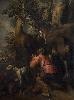 Théodore van Loon. Un peintre caravagesque entre Rome et Bruxelles : Théodore van Loon, La Conversion de saint Hubert © Musées royaux des Beaux-Arts de Belgique, Bruxelles, photo : Freya Maes
