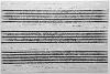 YAZID OULAB.  L'Espace de la pensée : Sans titre. 2014, huile sur toile réalisée au cordeau. 130 x 195 cm..