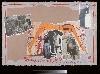 Mark Brusse : And, so what? Mark Brusse, 2009, collage de divers papiers et pastels à l'huile, 65 x 95 cm © Courtesy de l'artiste et de la galerie Anne-Marie et Rolland Palade, Lyon