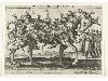 Bruegel - L'Image imprimée au temps de Bruegel (1500-1585) : Allegory - Pieter Van der Borcht, Allegorie op de moeilijkheid van het besturen, ets, uitgegeven bij Philips Galle, Antwerpen ca. 1578, Koninklijke Bibliotheek van Belgie, Prentenkabinet, S.I 1673
