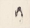 Des paysages, des figures - Carte blanche à Olivier Masmonteil : Anne-Laure Sacriste. Femme chevelure 1_2009_carbone sur papier_35 x 40 cm ©Nicolas Pfeiffer