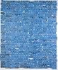 Nevermore : Pierre Buraglio, Gauloises, 1989. Assemblage de paquets de Gauloises bleues dépliés, 220 x 180 cm. Collection MAC/VAL, musée d'art contemporain du Val-de- Marne. © Adagp, Paris 2010. Photo Jacqueline Hide.