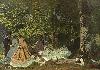 Icônes de l'Art moderne. La Collection Chtchoukine : Claude Monet - Le Déjeuner sur l'herbe, 1866. Huile sur toile. 130 x 181 cm. Musée d'Etat des Beaux-Arts Pouchkine, Moscou