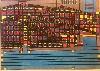 Outsider Art Fair Paris 2018 : Diego, Sans titre. circa 2005, technique mixte, 75 x 100 cm. © Galerie du Marché, Lausanne.