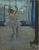 Icônes de l'Art moderne. La Collection Chtchoukine : Edgar Degas - La Danseuse dans l'atelier du photographe, 1875. Huile sur toile, 65 x 50 cm. Musée d'Etat des Beaux-Arts Pouchkine, Moscou