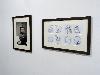Philippe Jusforgues - Carte blanche à la galerie Henri Chartier : Vue de l'exposition à l'espace Despalles, Paris 2013.
