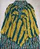 Elga Heinzen, le langage des plis : Témoins 6, acrylique sur toile, 185 x 150 cm, 1986 © Maya Palma
