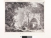 Charles Nodier - La Fabrique du Romantisme : Alexandre-Évariste Fragonard (1780-1850), Ruines du palais de la Reine Blanche à Léry, 1824.  Voyages pittoresques et romantiques dans l'ancienne France, Ancienne Normandie, 1825. © Paris, Fondation Taylor / Thomas Hennocque
