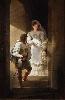 Charles Nodier - La Fabrique du Romantisme : Jean-Baptiste Isabey (1767-1855), Escalier de la tourelle du château d'Harcourt, 1827 © Cherbourg-Octeville, musée Thomas Henry / D. Sohier