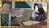 L'Orient des peintres. Du rêve à la lumière : Jules Migonney. Le Bain maure, 1911. Huile sur toile 104 x 188 cm © Carine Monfray – Collection du Musée du Monastère royal de Brou