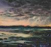 Des paysages, des figures - Carte blanche à Olivier Masmonteil : Sans titre,  2010, technique mixte sur toile, 140 x 150 cm. © Hugo Miserey - Courtesy Galerie Dukan & Hourdequin