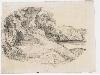Courbet dessinateur : PAYSAGE  Gustave Courbet, Étude de paysage, vers 1874. Fusain sur papier, 25 x 35 cm. Ornans, Musée Gustave Courbet.  Crédit photo: Musée Gustave Courbet, Ornans