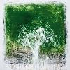 Séra : L'Arbre d'Avril. 2012, mine graphite et acrylique sur toile, 200 x 200 cm.